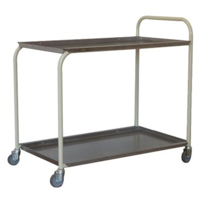 2 Tier Stainless steel tea trolley