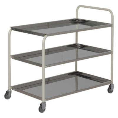 3-Tier-Stainless-steel-tea-trolley