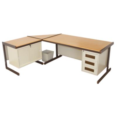 Atlantic Office Desk Suite: Consists of 1610 x 800 3 drawer