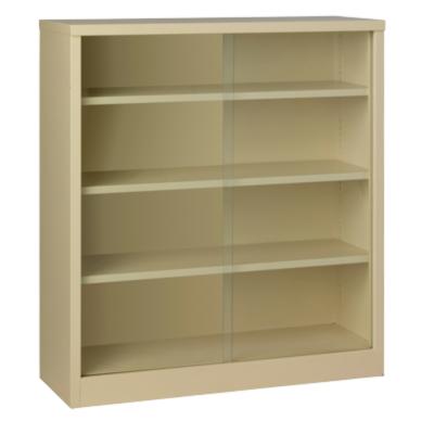 Steel-Glass-Sliding-Door-Bookcases