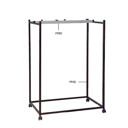 Vertical Mobile Plan Stand -to accommodate 18 binders